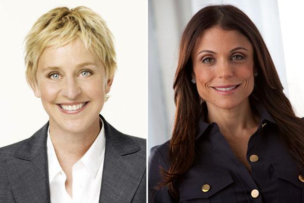Ellen DeGeneres, Bethenny Frankel