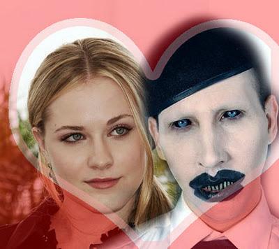 Evan Rachel Wood & Marilyn Manson4