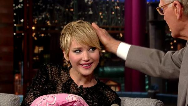 Even David Letterman wants to pet her